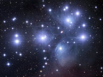 Image of the Pleiades